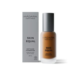 MÁDARA Skin Equal Soft Glow Foundation -Kuulas Meikkivoide Fudge 80
