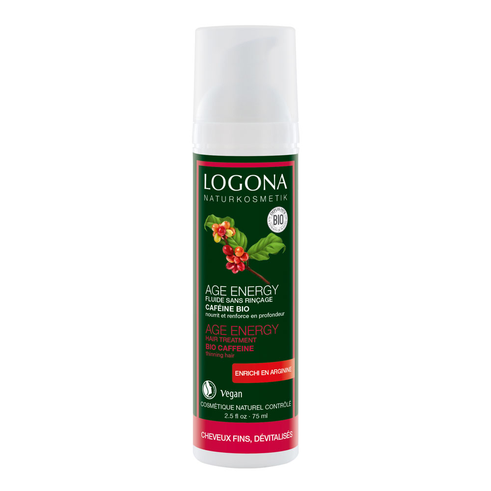 LOGONA AGE ENERGY HAIR TREATMENT - HAURAILLE HIUKSILLE 75ml