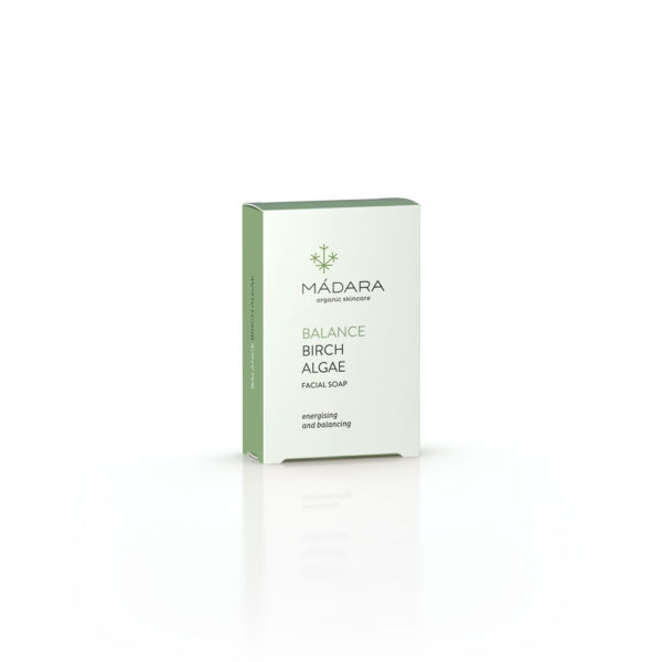 MÀDARA BIRCH & ALGAE FACE SOAP 75g