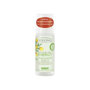 LOGONA ENERGY LEMON & GINGER DEODORANTTI ROLL-ON 50ml
