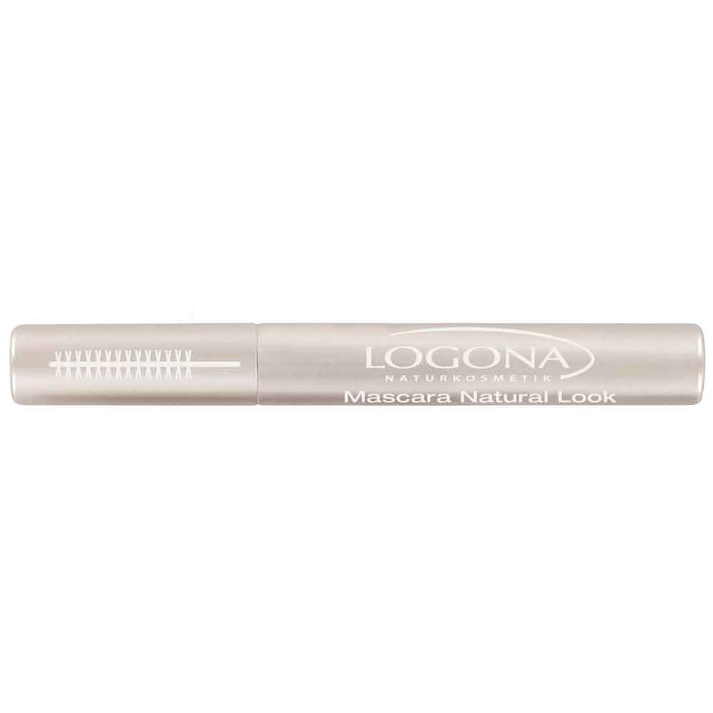 LOGONA MASCARA NATURAL LOOK NO. 01, BLACK 8ml