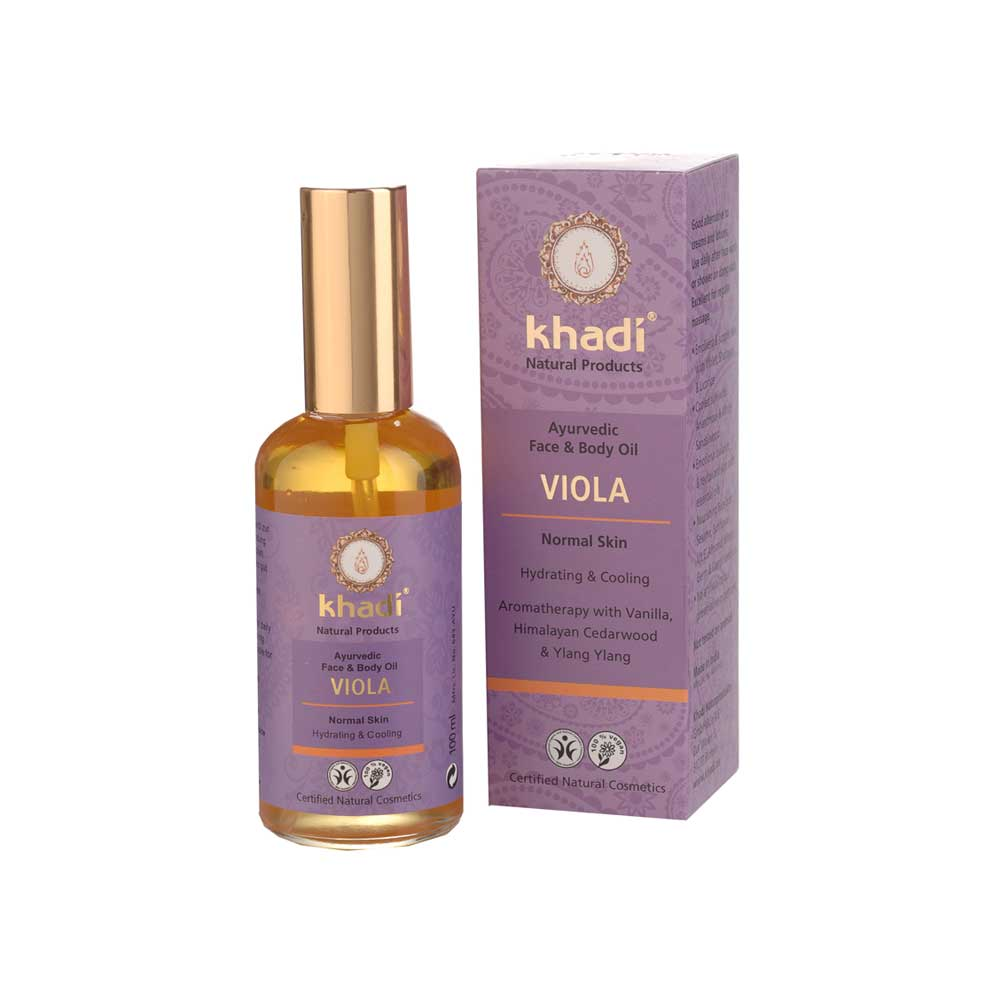 KHADI VIOLA FACE & BODY OIL - 100ml