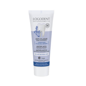 LOGONA Anti Plaque Brine suolahammastahna 75ml