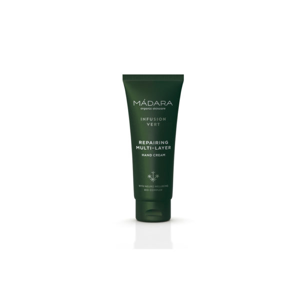 MÀDARA Infusion Vert Intense Multi-layer Hand Cream 75ml