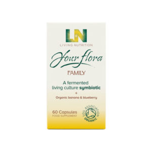 LIVING NUTRITION Your Flora Family 60 kaps